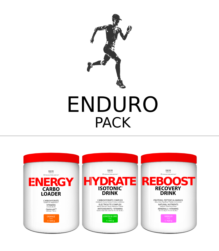 -25% ENDURO PACK isotonic+carbs+recovery