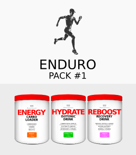 -25% ENDURO PACK-1 isotonic+carbs+recovery