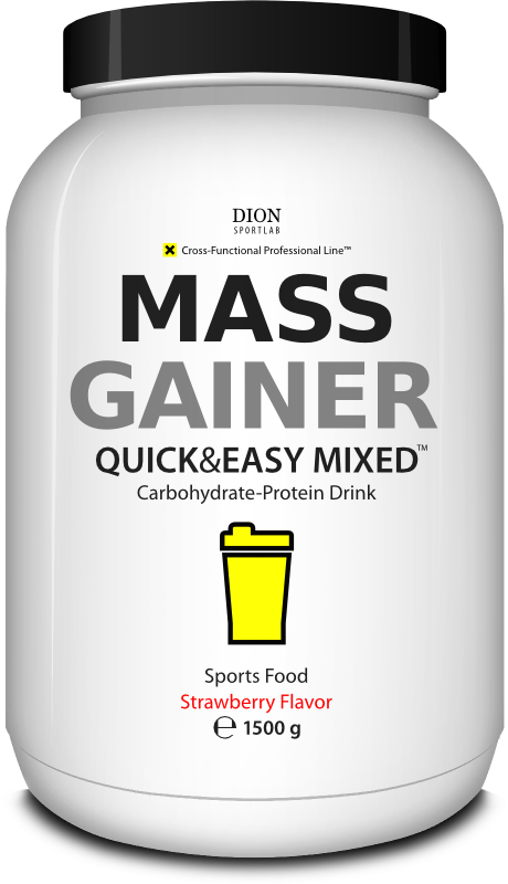 × MASS GAINER geineris 15%
