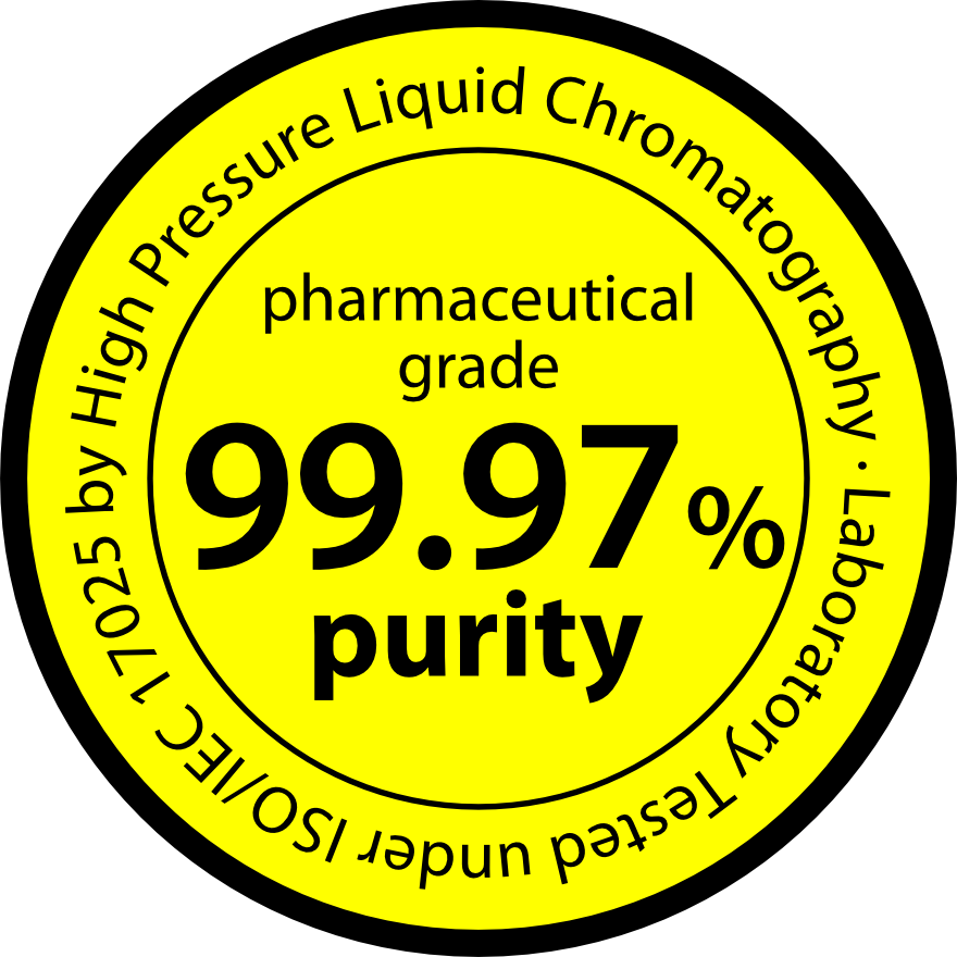 99.97% Pure Creatine Seal