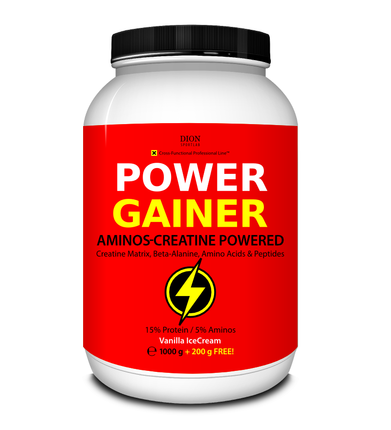 × POWER GAINER gainer